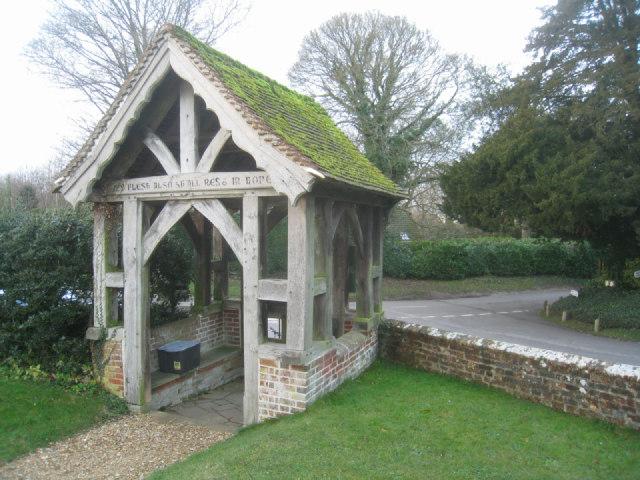 Dummer - All Saints Church - Lych gate