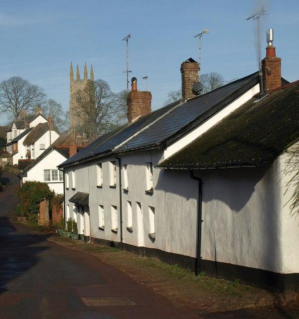 Cottages, Sampford Courtenay