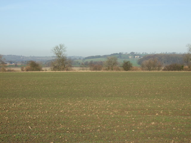 Farmland north of the A659