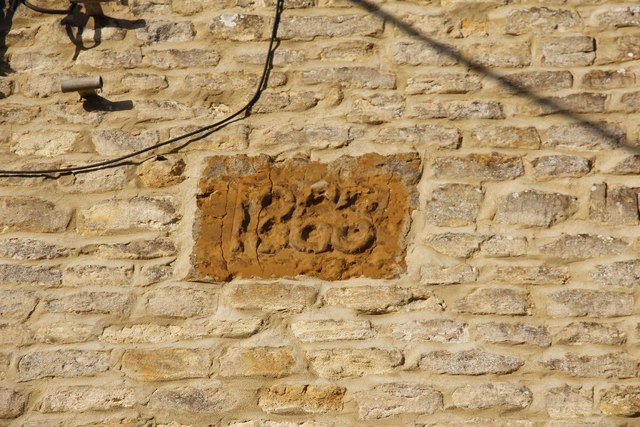 Date stone on the hall