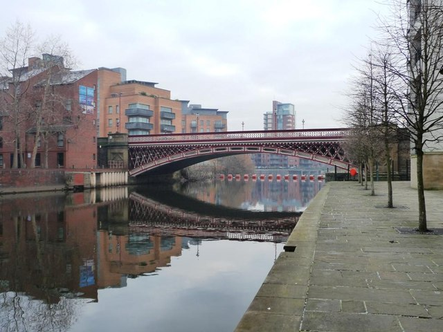 Crown Point Bridge and the River Aire