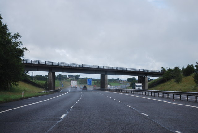 B7076 Bridge, A74(M)