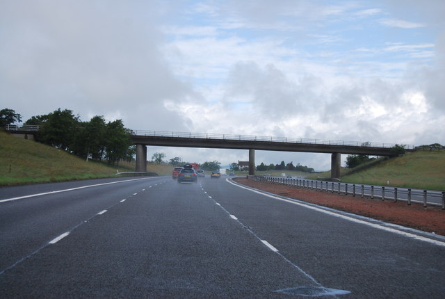 Junction 18 overbridge, A74(M)