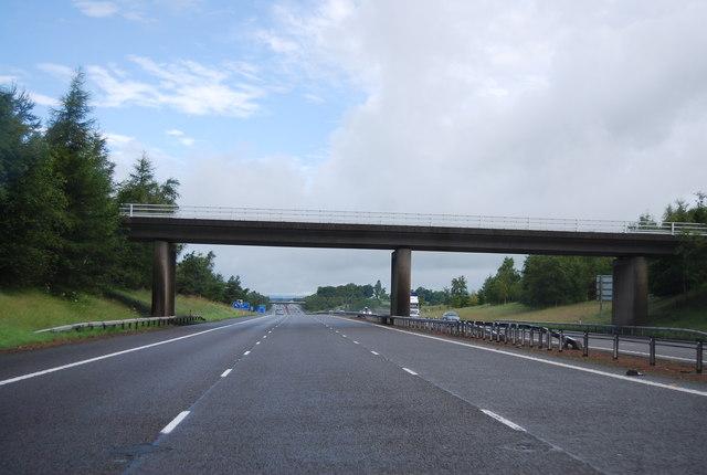 Bridge over the A74(M) near Lockerbie