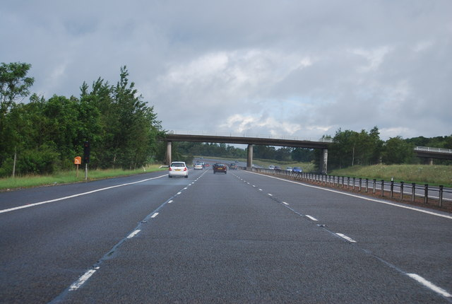 A74(M) north of Lockerbie