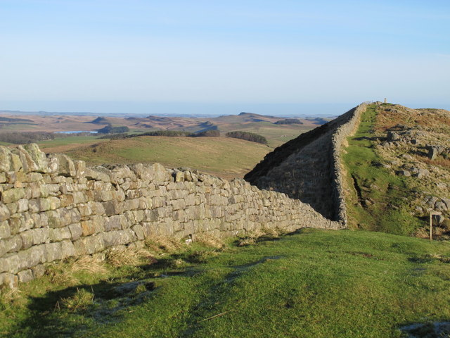 Hadrian's Wall at Turret 40a