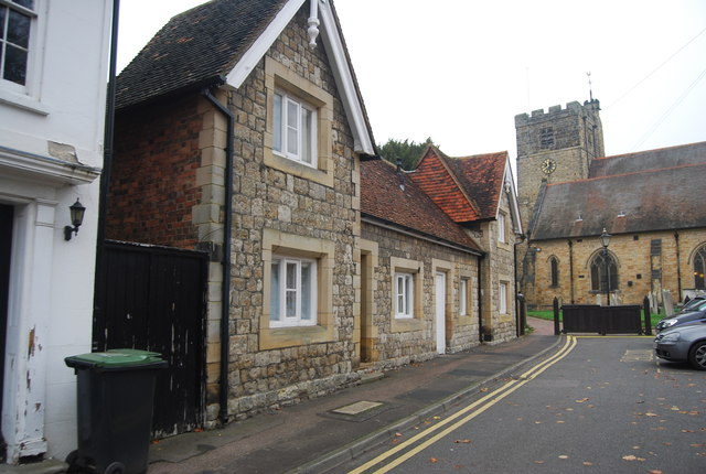 Almshouses, Church St