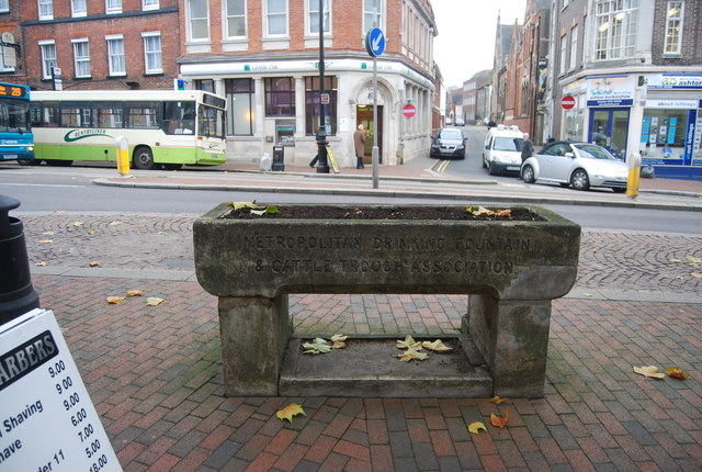 Water trough, High St
