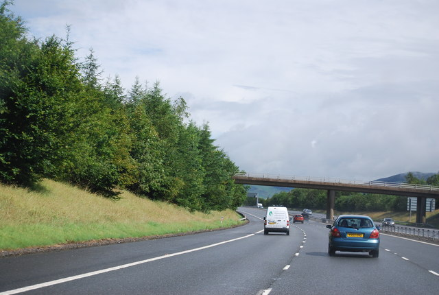 Bridge over the A74(M)