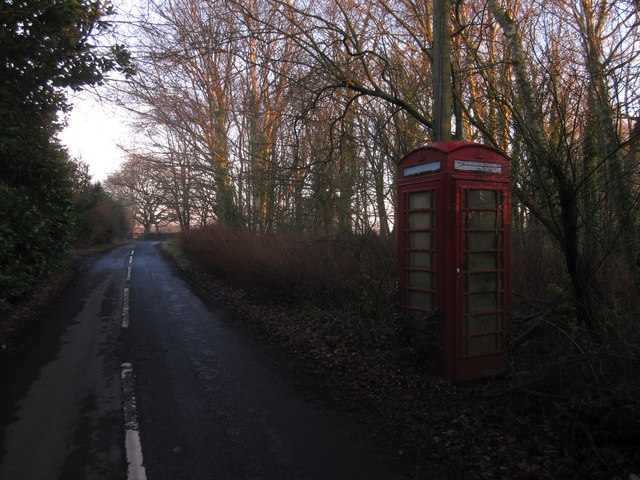 Paddockhill triangle - the forgotten phonebox