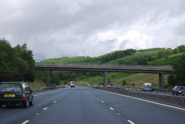 Coatsgate Quarry Access Bridge, A74(M)