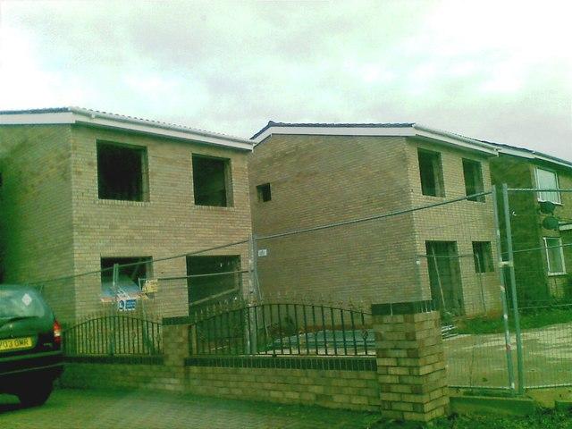 New houses, Rowood Drive, Elmdon Heath