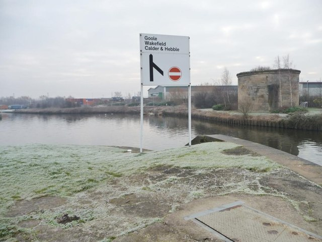 The tail of Knostrop Fall Lock