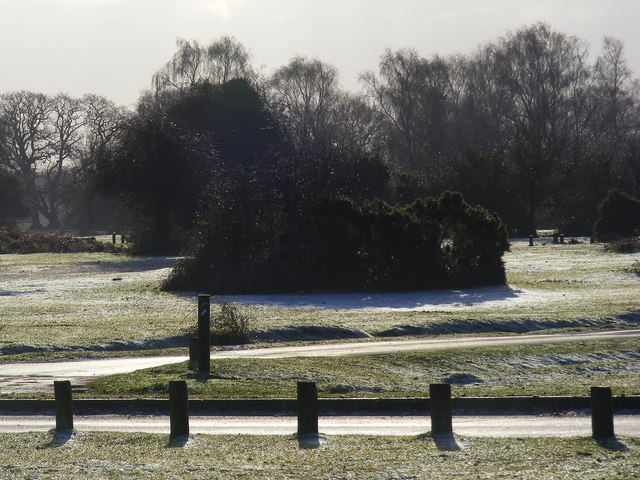 Frosty January Morning at Round Hill - Camp Site Closed