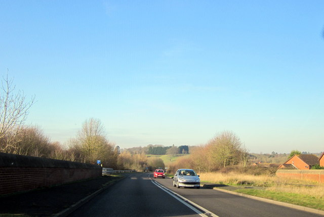 Droitwich By-Pass A38 Crossing Railway Line