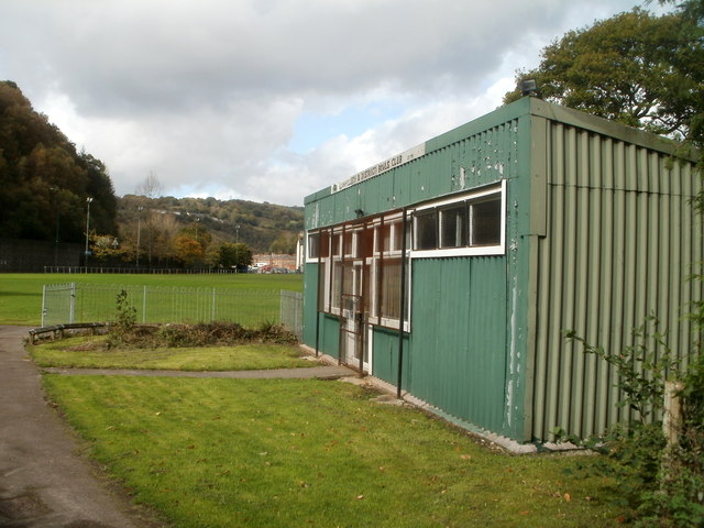 Llanhilleth & District Bowls Club pavilion