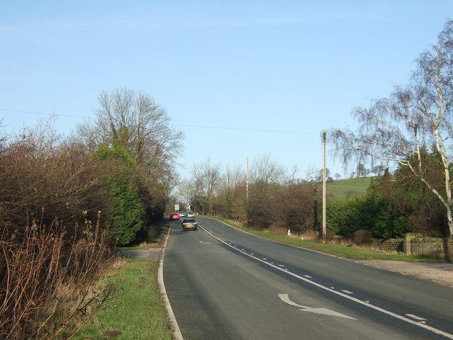 Swindon Lane (A61) towards Harrogate