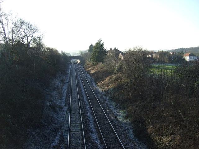 Railway towards Leeds