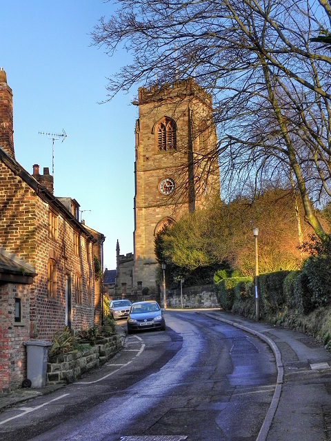 Church Brow and St Mary's Church, Bowdon