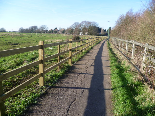 Footpath near Crockenhill