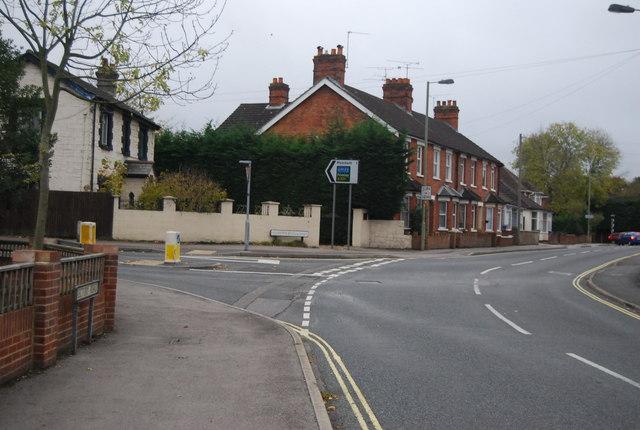Rectory Rd, Coleford Bridge Rd junction