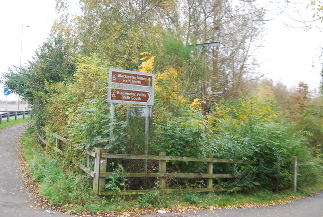 Blackwater Valley Path off Coleford Bridge Rd