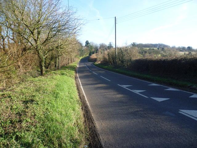 Eynsford Road near Crockenhill