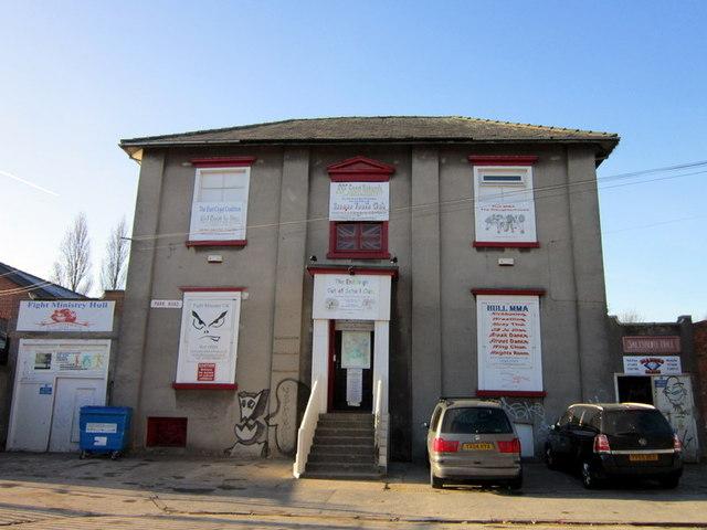 Salisbury Hall on Park Road, Hull