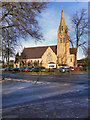 SJ7791 : St Mary's Church, Ashton-on-Mersey by David Dixon
