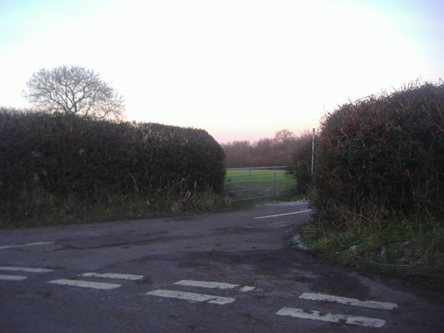 Junction on Hogden Lane