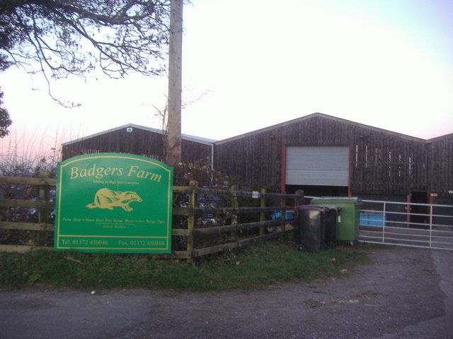 Badgers Farm, High Barn Road