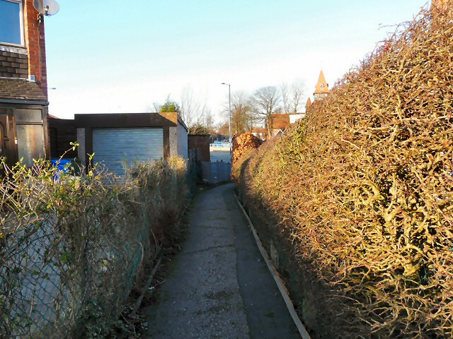 Footpath from Weston Drive
