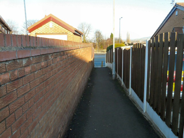 Footpath from Linden Close