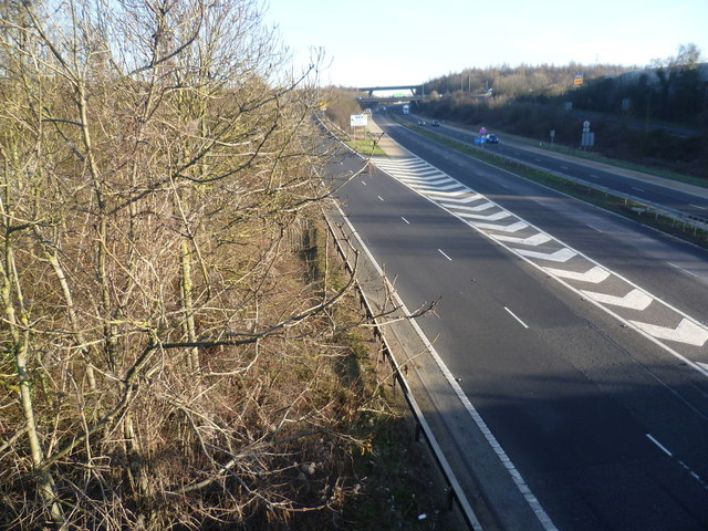 The M20 from London Road