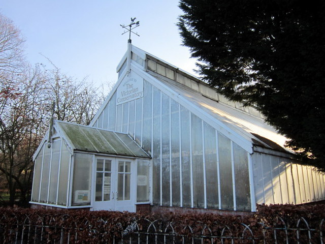 The Victorian Conservatory in Pearson Park