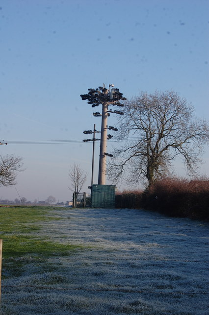 Cell Phone mast Disguised as a tree