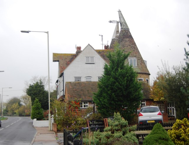 Oast House, Chestfield Rd