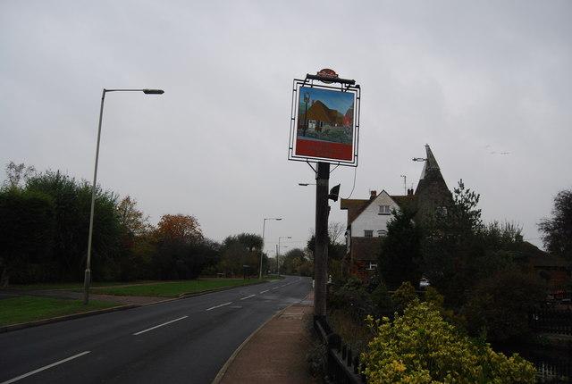 Chestfield Barn sign