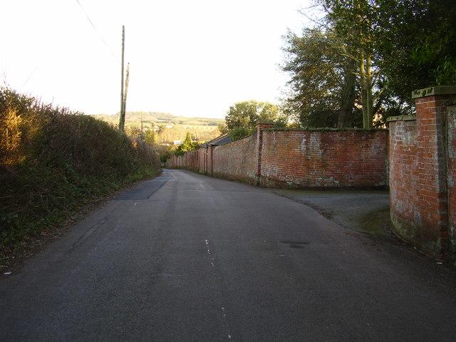 The long wall. Oakhayes lane