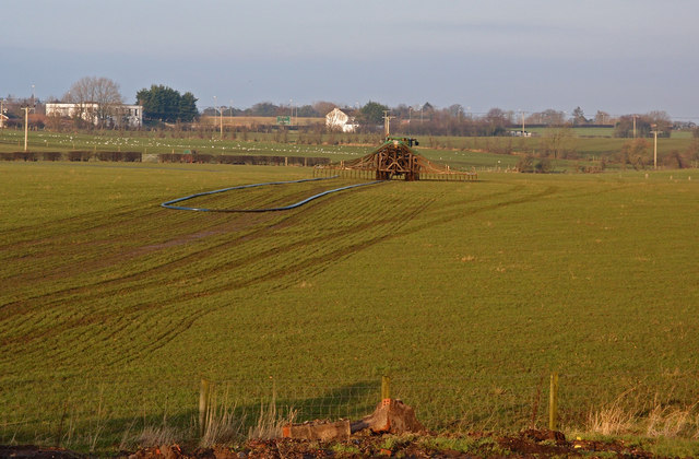 Spreading Slurry