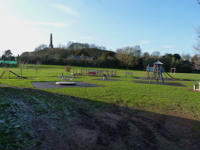 Small play area in Lilleshall