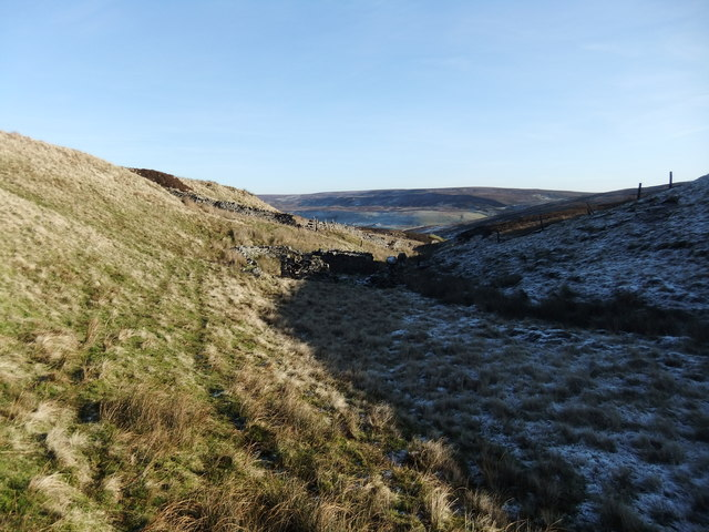 Sheepfold at the head of Bloody Vale