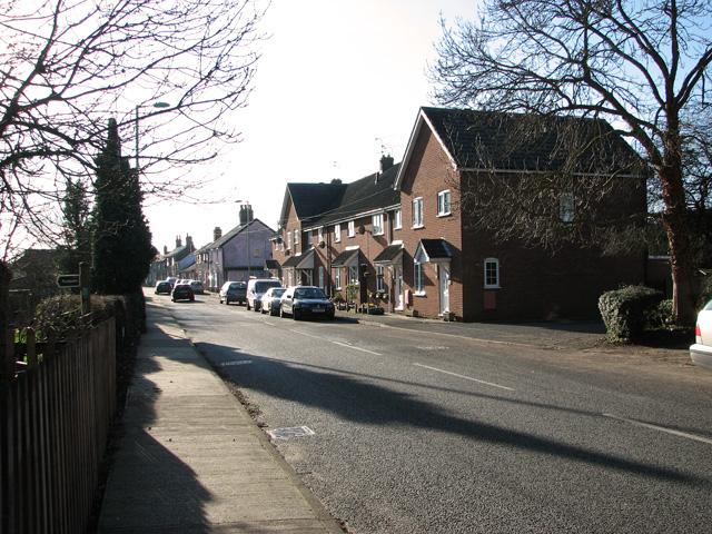 Cottages in College Road, Framlingham