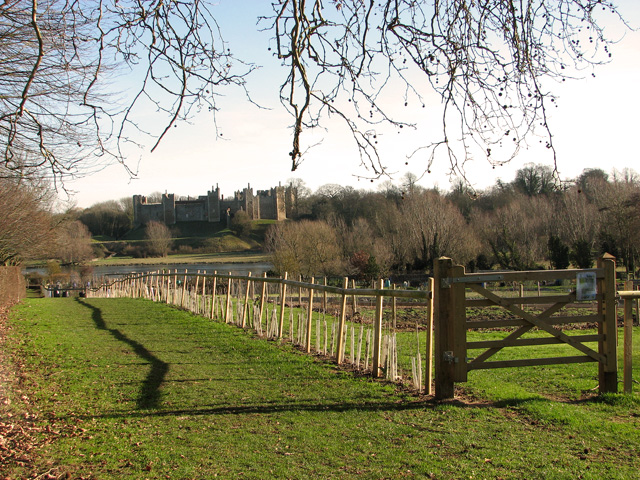 Footpath to the Mere, Framlingham