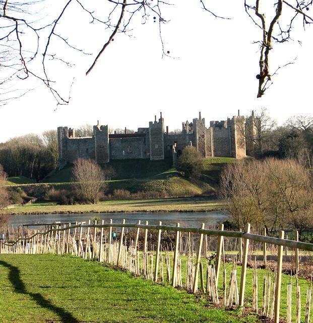 Framlingham Castle and the Mere