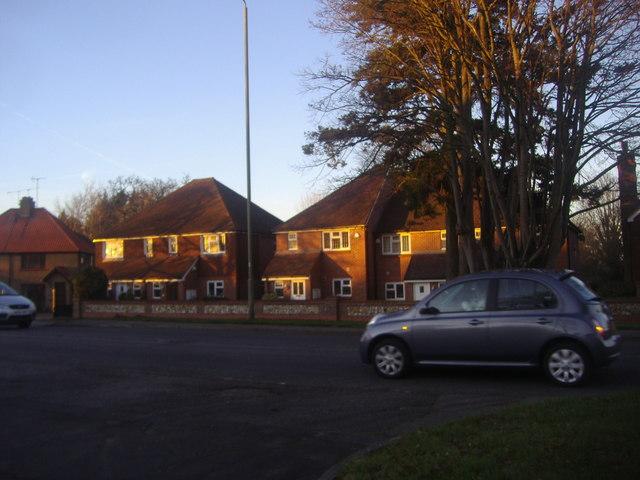 Houses on Leatherhead Road, Bookham