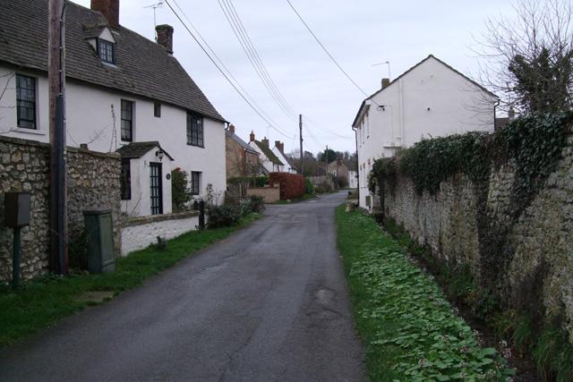 Cottages in Front Lane, Broad Blunsdon