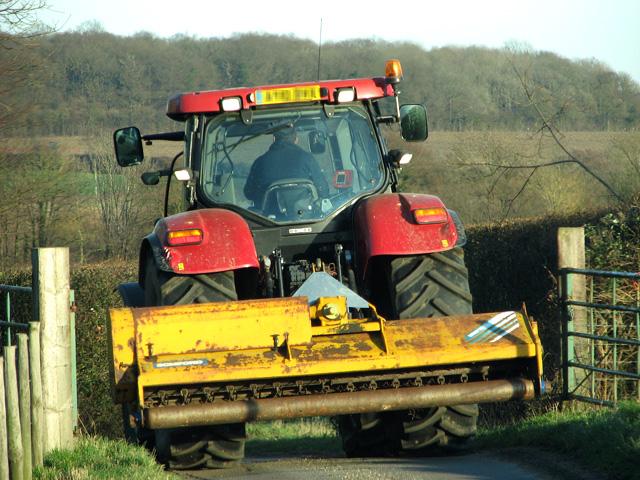 Rural lane from Hoo to Kettleburgh