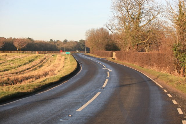 Bend in the road B1206