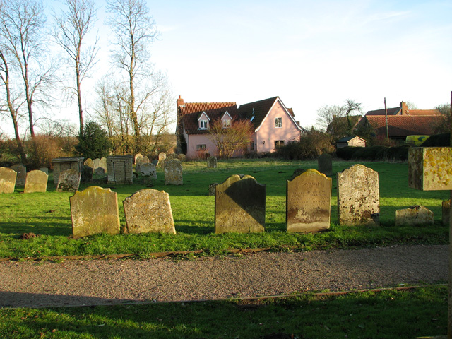 St Andrew's churchyard, Kettleburgh